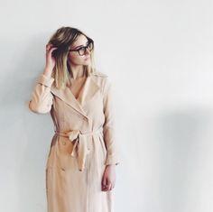 TY-LR Suburban Trench Dress
