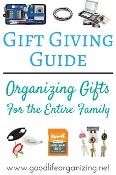 The ultimate gift giving guide for organizing gifts for the entire family