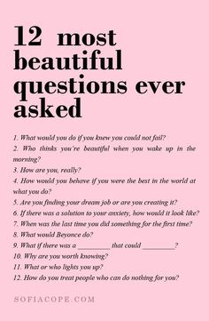 12 most beautiful questions asked ever Pretty Words, Motivational, Cute Words, Fancy Words