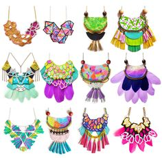 http://sosuperawesome.com/post/153709823660/colorful-handmade-leather-statement-jewelry-and