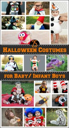 25 baby halloween costumes. These are SO stinkin cute!!
