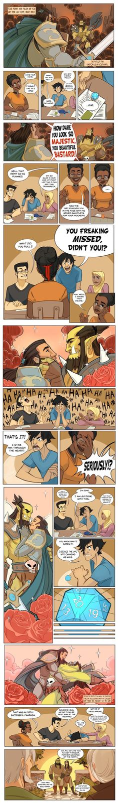 As the Charismatic Bard of the group, this is basically my job...(Written by Jasmine Walls, Illustrated by Amy Phillips)