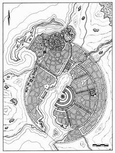 City of Umbar Map