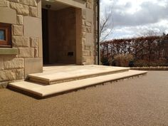 Permeable paving Derbyshire Eco Resin Bound.