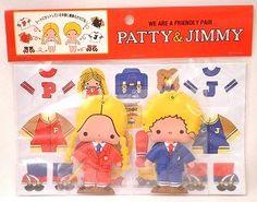 月のおうち*-パティ&ジミー*着せ替えマスコット