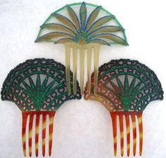 Antique Mantilla Combs