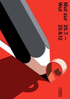 International poster competition  |  Mut zur Wut: Courage to Rage Exhibition 2012  |  Heidelberg, Germany  |  http://mutzurwut.de/