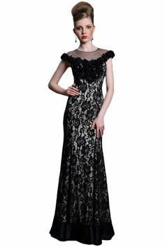 Merry Bridal Black Lace Mermaid Celebrity Cocktail Dress/Party Dress,Large Merry Bridal,http://www.amazon.com/dp/B00IKDRM96/ref=cm_sw_r_pi_dp_LSoCtb0F5AJQTNJP