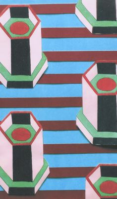 & Other Stories | SS/15 Inspiration Pattern by Nathalie Du Pasquier.