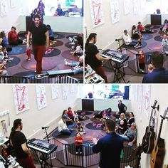 #Halloween at Toddle Tunes this week!  #Keyboard & #theremin! Look at Teacher Vinny balance all of the bats on his head!   #ToddleTunes #allages #musicclassesforkids #realinstruments #freetrialclass #losangeles #twitter #fun #toddlersofinstagram #musiclovers