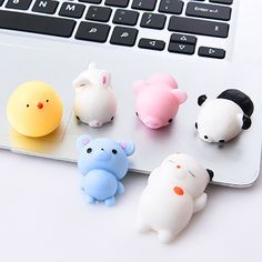 Stress Relief Toys - Mini Change Color Squishy Cute Cat Antistress Ball Squeeze Mochi Rising Abreact Soft Sticky Stress Relief Funny Toy For Children Figet Toys, Doll Toys, Kids Toys, Dolls, Cool Fidget Toys, Funny Toys, Stress Relief Toys, Squishies, Kawaii