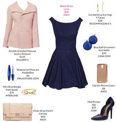 My weekly outfit - https://mystylit.com love the collar on this dress