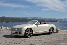 2012 Bentley Continental GTC...mine will be navy blue with camel interior