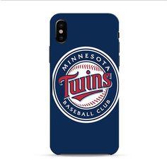 Minnesota Twins Baseball Logo Blue iPhone X 3D Case