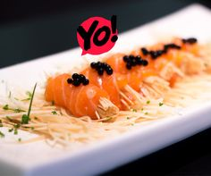 Salmon Wrap - TokYo! Restaurante Café Londrina. #soutokyo #restaurante #japones #londrina #rodizio #japanese #food #chef #adriano #kanashiro #cooking