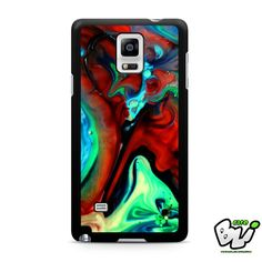 Abstract Liquid Samsung Galaxy Note 4 Case