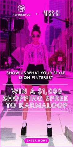 Enter To Win Karmaloop  Spree