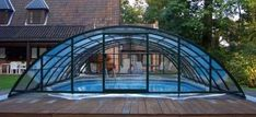 Weatherproof Pools - Telescopic Pool Enclosures Keep Your Pool Open All Year Round