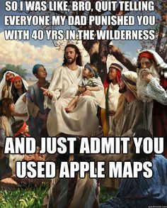The true reason for the Israeli's wandering the wilderness.