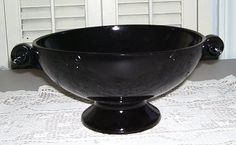 Mint Large Black Amethyst Glass Scrying/Gazing by SubRosaMagick, $95.00