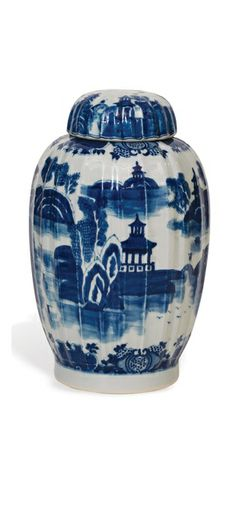 """Blue and White Porcelain"""