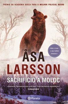 Manta de Histórias: Sacrifício a Moloc de Asa Larsson - Novidade Plane...