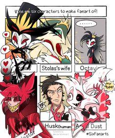 Art Style Challenge, Drawing Challenge, Baguio, Cute Anime Character, Character Art, Blue Diamond Steven Universe, Invader Zim Characters, Monster Hotel, Hazbin Hotel Angel Dust