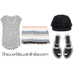 Summer storm outfit by cookiek on Polyvore   www.theworldswardrobe.com