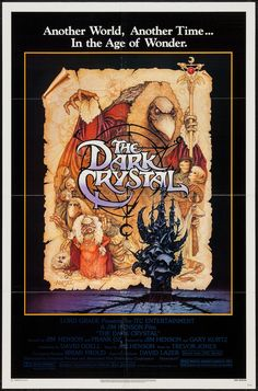 The Dark Crystal - movie poster - Fine (7.0)
