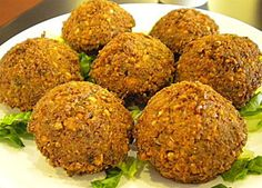 Photo: Falafel Recipe Authentic Lebanese recipes - Enjoy a collection of healthy and home-style Lebanese recipes like Tabbouleh , Fatt. Armenian Recipes, Lebanese Recipes, Greek Recipes, Vegan Recipes, Cooking Recipes, Easy Recipes, Lebanese Cuisine, Best Falafel Recipe, Lebanese Falafel Recipe