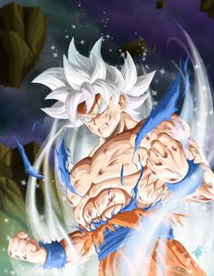 Goku Ultra Instinct - Mastered, Dragon Ball Super