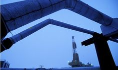 Rig in BP oil-field near Prudhoe Bay, Alaska. Research by the energy firm looks at the likelihood of curtailing climate change. Photograph: ...