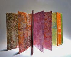 Fresco Finish, Acrylic paint, Gelli Plate, Gelli print, Stencils