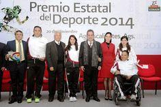 Entregan el Premio Estatal del Deporte en Aguascalientes ~ Ags Sports