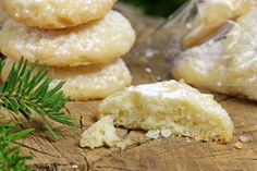 These zesty shortbread biscuits are made with olive oil, making them dairy-free.