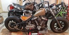 Custom Motorcycles, Cars And Motorcycles, Bobber Chopper, Wheels, Bike, Inspiration, Motorbikes, Bicycle, Biblical Inspiration