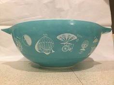 Vintage Pyrex Balloons Promotional Chip by MyLittleVintageStash