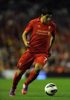 Luis Suarez to shine in Brendan Rodgers new look Liverpool formation Football Rooms, World Football, Football Players, Ynwa Liverpool, Liverpool Fans, Brendan Rodgers, You'll Never Walk Alone, Soccer Ball, Premier League
