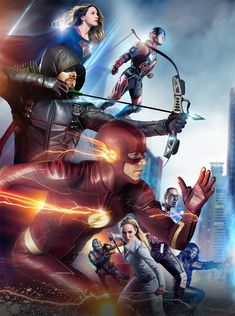 crisis-on-earth-x-crossover-dccomics-arrow-the-flash-supergirl-legends-of-tomorr. - crisis-on-earth-x-crossover-dccomics-arrow-the-flash-supergirl-legends-of-tomorrow-cw. Series Dc, Dc Comics Series, Marvel Avengers, Marvel Dc Comics, Flash Comics, Flash Characters, Dc Comics Characters, Supergirl Dc, Supergirl And Flash