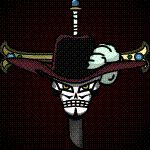Mihawk Jolly Roger Animated by Z-studios.deviantart.com on @DeviantArt