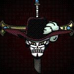 Mihawk Jolly Roger Animated by Z-studios.deviantart.com on @deviantART