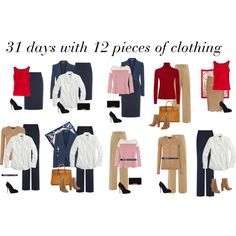 """""""31 days with 12 pieces of clothing 3/3"""" by ketutar on Polyvore"""