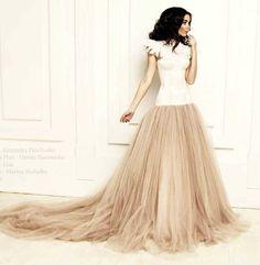 Wedding dress wedding gown prom dress dropped van ALENAFEDE op Etsy