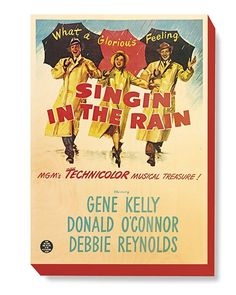 MOV 058 Movie Poster Art - Singing in the Rain