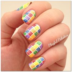 Instagram photo by  playfulpolishes  #nail #nails #nailsart