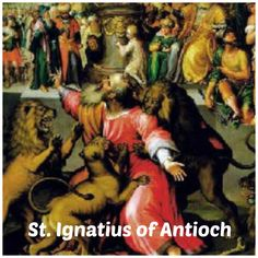 """Let's be guided by words of St. Ignatius of Antioch before his martyrdom by the Trajan's persecution in 107 A.D. as he died in Rome, devoured by two lions: """"I prefer death in Christ Jesus to power over the farthest limits of the earth. He who died in place of us is the one object of my quest. He who rose for our sake is my one desire."""""""