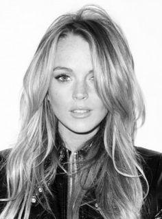Lindsay Lohan Head Shot Before Drugs