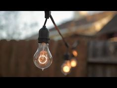 How To Install String Lights Outdoors - Build.com