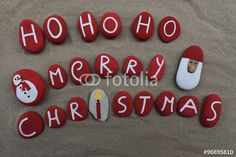"Download the royalty-free photo ""Ho ho ho, Marry Christmas"" created by Ciaobucarest at the lowest price on Fotolia.com. Browse our cheap image bank online to find the perfect stock photo for your marketing projects!"