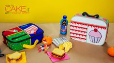 Send them off to school with one more summer treat! My Back To School Lunch Box Cake is a great way to celebrate the Fall season with your little one. Customize it with their fave colours and characters! #Baking #Dessert